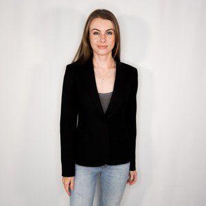 THEORY Custom Gabe Edition Black Wool Blazer